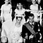 Portrait d'Albert II et Paola