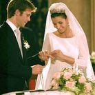 Le couple se marie à Rome en 2003