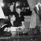 Édouard et Wallis Simpson, en janvier 1939