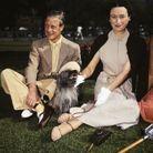 Édouard et Wallis Simpson, en mai 1950