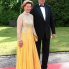 Le roi et la reine de Norvège apparaissent toujours trés élégants lors des apparitions