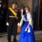 Le roi Harald V et la reine Sonja