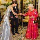 La princesse Salwa rencontre Elisabeth II