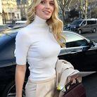 Kitty Spencer en janvier 2020 lors de la Fashion Week de Paris