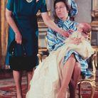 La reine Elizabeth et la princesse Anne à la naissance de Peter