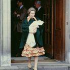 Princesse Anne à la naissance de sa fille Zara