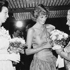 Princesse Anne aux côtés de Lady Diana
