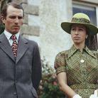 Princesse Anne et Mark Phillips en 1975