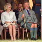 Charles et Camilla en août 2003, en Écosse