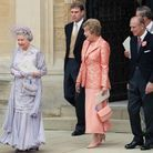 La reine Elizabeth en lila