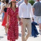 Le couple à Roland-Garros