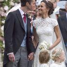 Pippa Middleton et James Matthews durant leur mariage