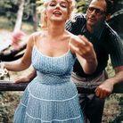 Marilyn Monroe et son mari, Arthur Miller