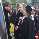 JR, Guillaume Canet et Marion Cotillard