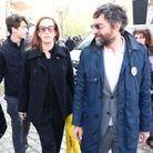 Mathieu Demy et sa femme