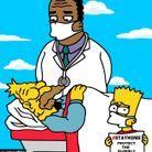 Bart Simpson et son grand-père
