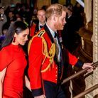 Meghan et Harry au Royal Albert Hall