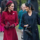 Kate Middleton et Meghan Markle discutent