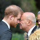 Le Prince Harry a aussi eu droit à un accueil selon la tradition