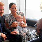 Le couple princier rencontre l'archevêque Desmond Tutu