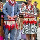 Le couple princier haut en couleurs