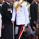 Le prince Harry au mémorial de la guerre des Fidji