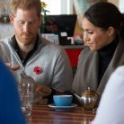 Meghan Markle et le Prince Harry au Maranui Café
