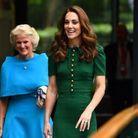 Kate Middleton arrivant à Wimbledon