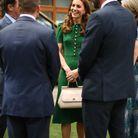 Kate Middleton, stylée en vert