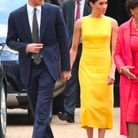 L'arrive du duc et de la duchesse de Sussex