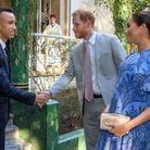 Meghan Markle et Harry accueillis par le prince Moulay El Hassan, le fils aîné du roi