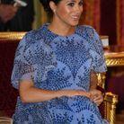 Meghan Markle sublime dans sa robe bleue