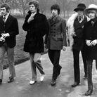 Les Rolling Stones à Londres, en janvier 1967.