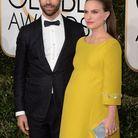 Aux Golden Globes, la star est enceinte de son deuxième enfant