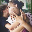Natalie Portman avec ses deux enfants