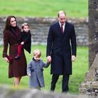 Kate Middleton, le prince William, et leurs enfants, George et Charlotte
