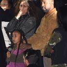 North West et son père au défilé Yeezy