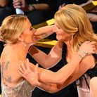 Scarlett Johansson salue sa partenaire Laura Dern, qui vient de remporter un oscar