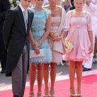 Au mariage du prince Albert et Charlene Wittstock