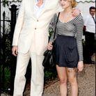 Avec son père