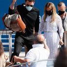 Jennifer Lopez et Ben Affleck ont embarqué à bord d'un bateau-taxi