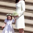 Kate Middleton, en robe jaune Clare Waight-Keller
