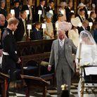 Le prince Charles a conduit la mariée jusqu'à l'autel