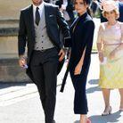 David et Victoria Beckham posent pour les photographes