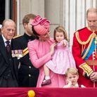 Le prince George s'ennuie à la parade Trooping the Colour en 2017