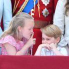 Savannah Phillips a fait signe au prince George de se taire