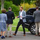 L'arrivée du prince Harry à La Haye