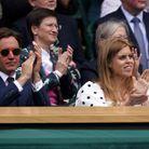 Beatrice d'York et Edoardo Mapelli Mozzi à Wimbledon