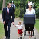 L'arrivée du couple princier et leurs enfants