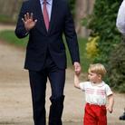 Les princes George et William